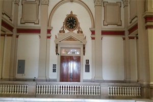 Courthouse interior