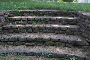 Ernie's steps.