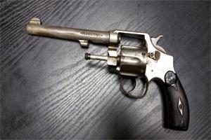 Ernie's gun
