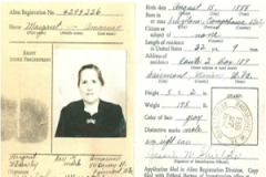 Margaret's passport