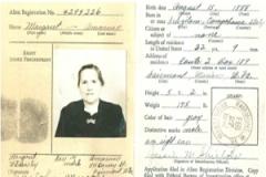 Margaret's passport