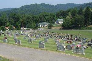The Catholic cemetery