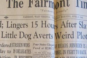 Newspaper article about Tutu