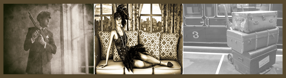 Roaring 20s Flapper Devil in the Basement